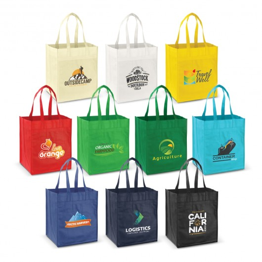 Printed Mega Shopper Tote Bags